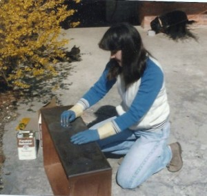 Lisa refinishing 001